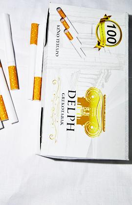Τσιγαροσωλήνες Delph 100 τμχ